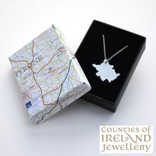 County Tyrone Map Pendant